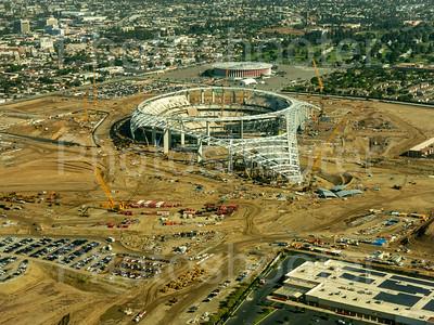 SoFi Stadium in progress