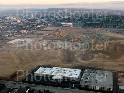 SoFi Stadium construction start