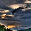 HDR of Dusk Sky