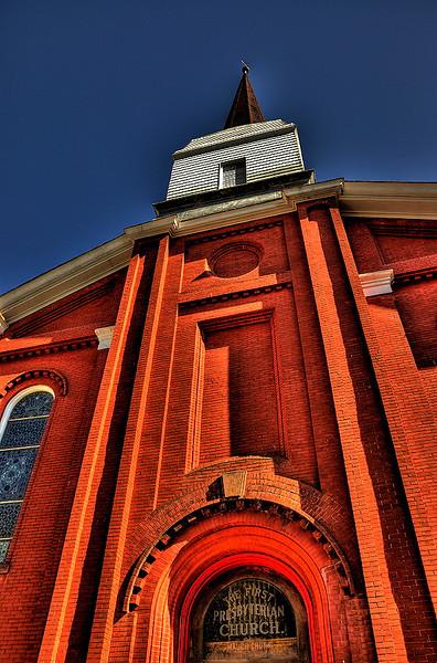 Presbyterian Church in Jim Thorpe, PA