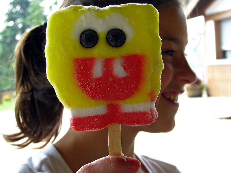 Sponge Bob Prior to His Demise