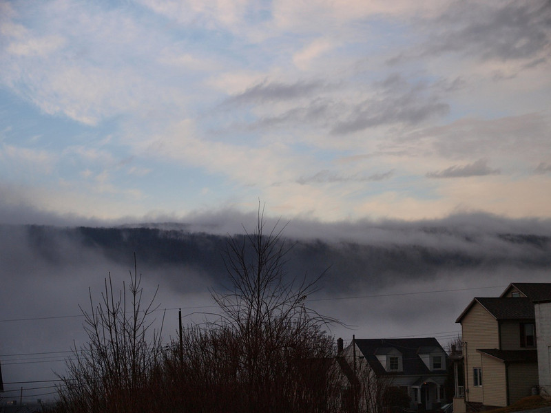 Fog in Late Afternoon
