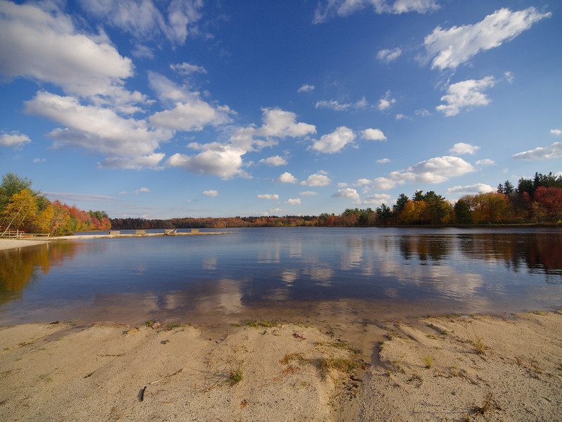 On the Beach in Pocono Pines, PA