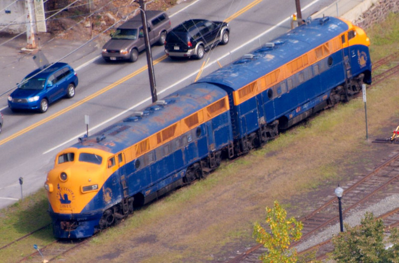 Train in Jim Thorpe