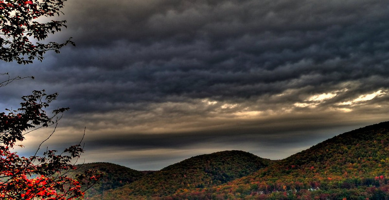 HDR of Mountains Near My House