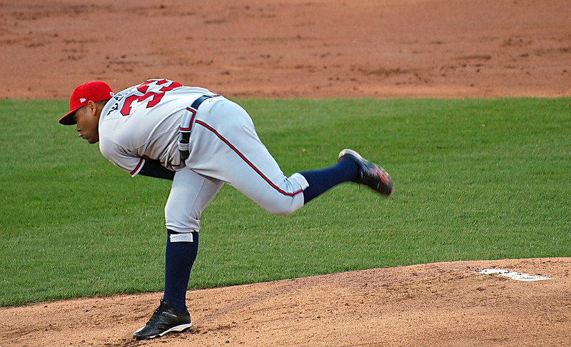 Pitcher Bueno for the Richmond Braves