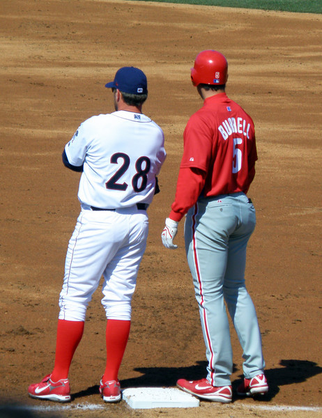 Pat Burrell on First