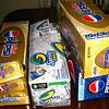 Cartons of soda