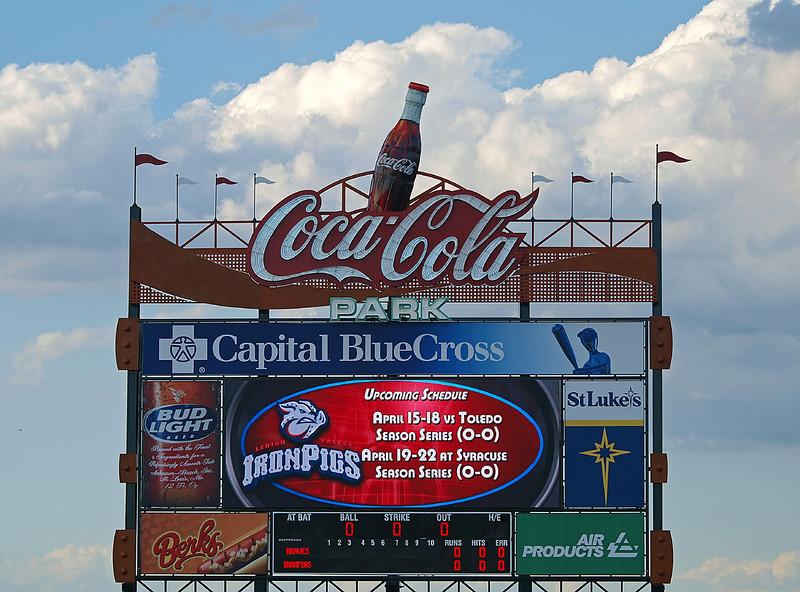 Center Field Scoreboard