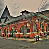 Train Station in Jim Thorpe, PA <br /> HDR - Tonemapped