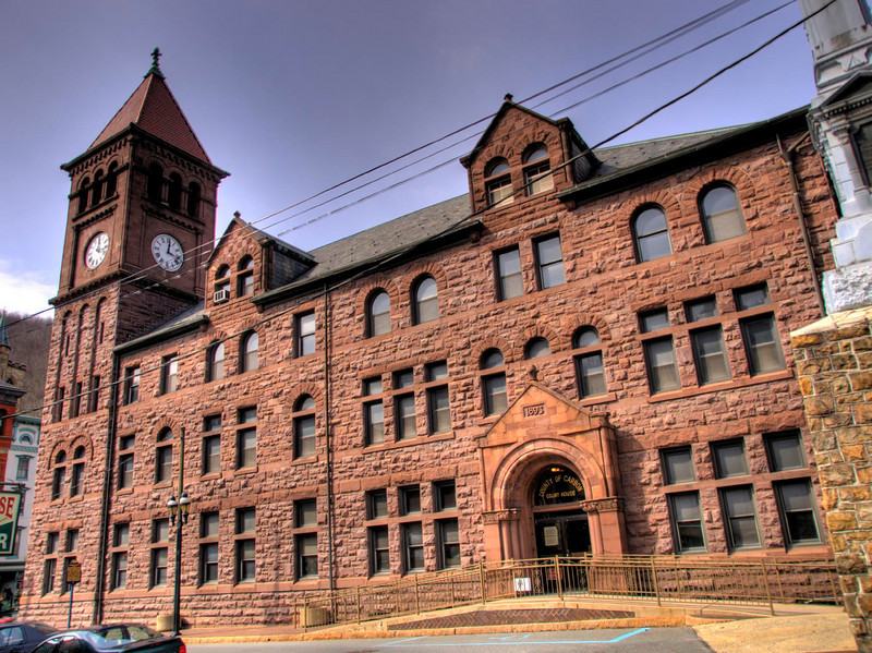 Jim Thorpe Courthouse <br /> HDR Photography