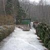 Back Yard Snow