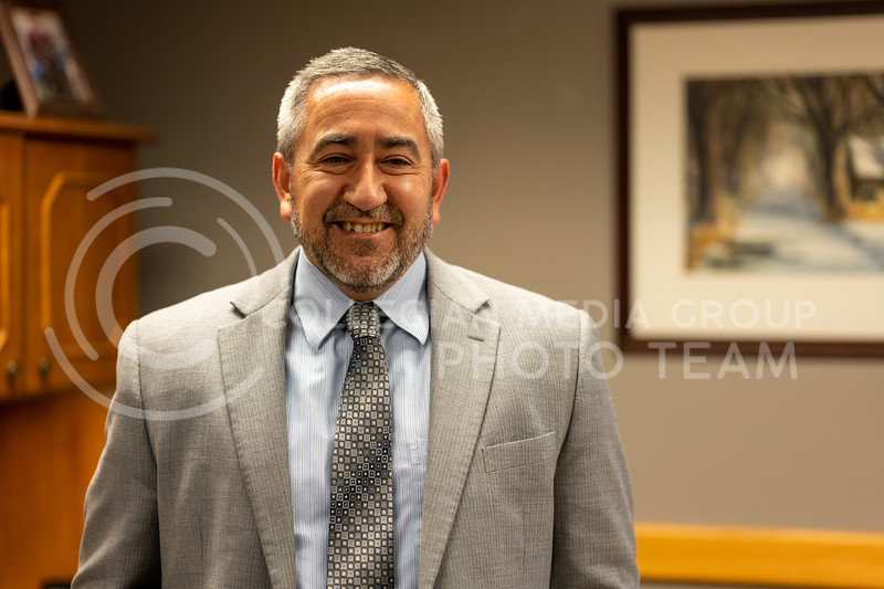Rich Vargo, The Riley County Clerk. (Dylan Connell | Collegian Media Group)
