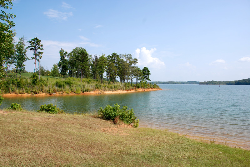 Shores of Lake Russell