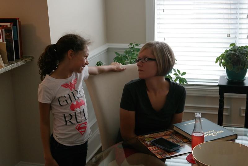 Callie Talks with Mom Meryl Faulkner