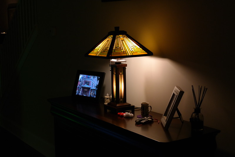 New Prairie Style Table Lamp