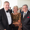 RIchard and Nancy Donahue pose with Tony Bennett at the May Dinner in 2013 at the John F. Kennedy Presidential Library and Museum. COURTESY JOHN F. KENNEDY PRESIDENTIAL LIBRARY AND MUSEUM
