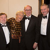 Philip, Nancy and Richard Donahue pose with Kenneth Fineberg, chairman of The John F. Kennedy Library Foundation Board of Directors, at the May Dinner in 2013.  COURTESY JOHN F. KENNEDY PRESIDENTIAL LIBRARY AND MUSEUM