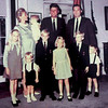 A young Donahue family with John F. Kennedy and family. SUN FILE PHOTO