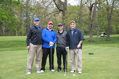 The 2017 Richard Migli tournament champions. From left, Mark Olson, Todd Donovan, Don Annicelle and Rob St. Jean