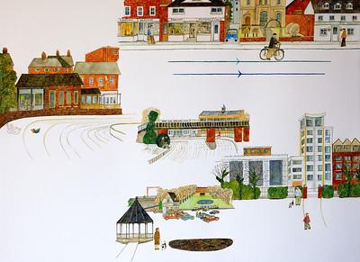 Newbury Scenes - Parallel Lines
