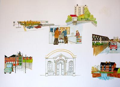 Newbury Scenes - Arc(h)