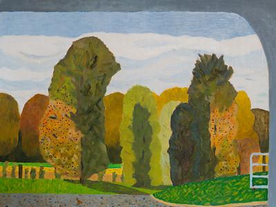 Autumn -  Road North -  Richard Pelham Landscapes