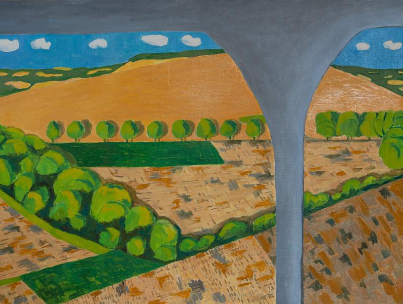 Summer -  Ladle Hill -  Richard Pelham Landscapes