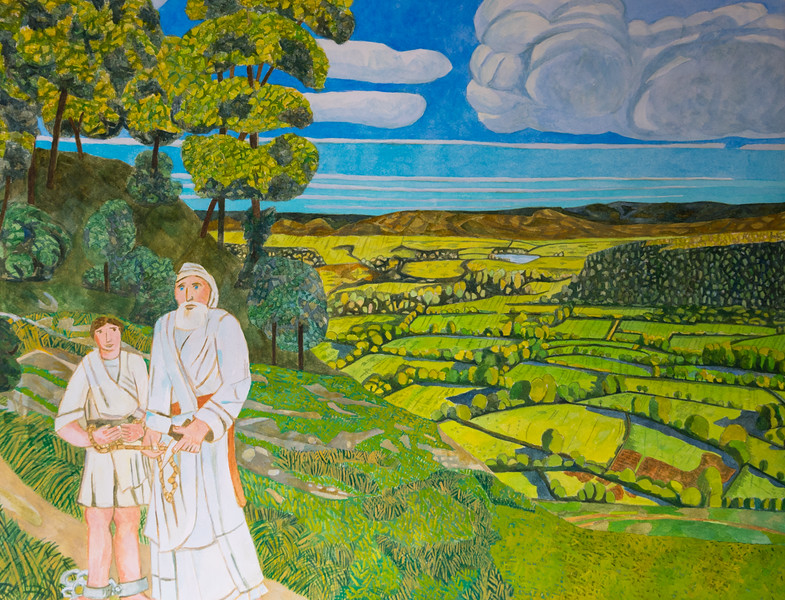 Abraham realises that he does not have to sacrifice his son - Moral of the Story - Richard Pelham