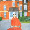 Newbury Scapes - Postman at Greenham Mill