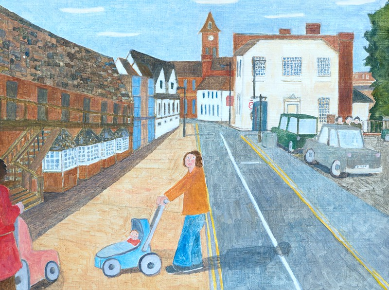 THe Wharf - Looking towards the Town Hall