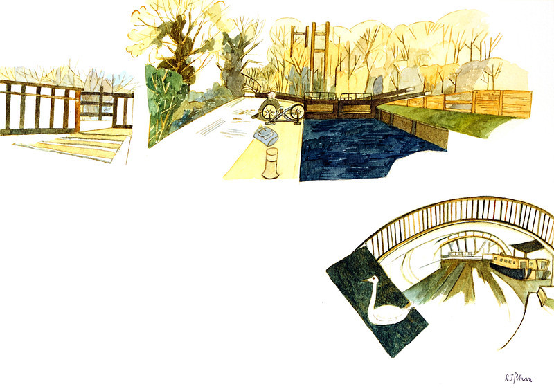 Kennet Canal Lock