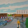 Newbury Scapes - Down to the Library and Wharf