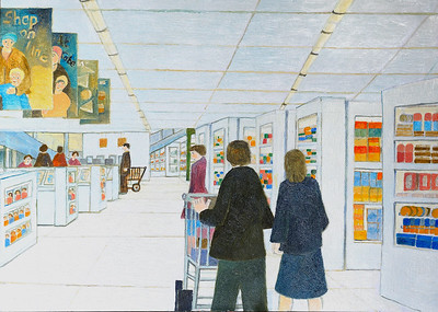 Newbury Scapes -Sainsburys by Richard Pelham