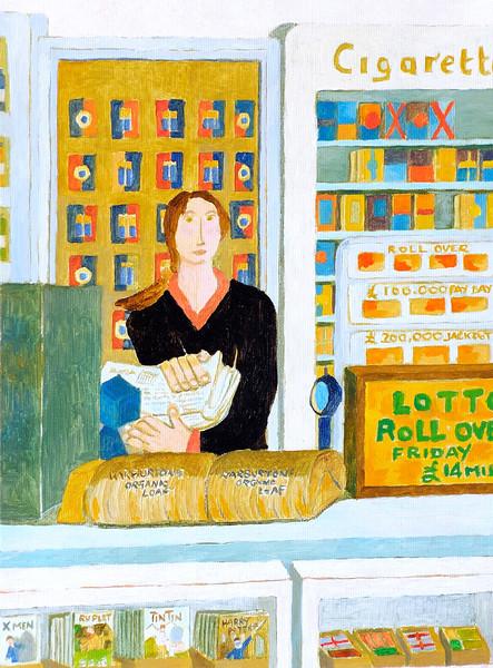 Newbury People - Saleswoman at One Stop