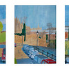 Triptych - Newbury by the Kennet