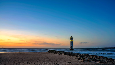 Sunset On New Brighton