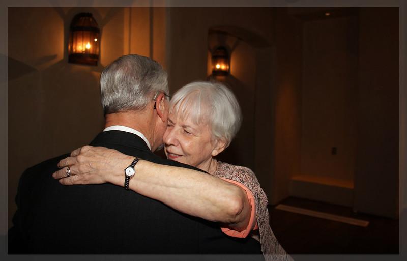 Still on honeymoon....Margaret and John Gilmore