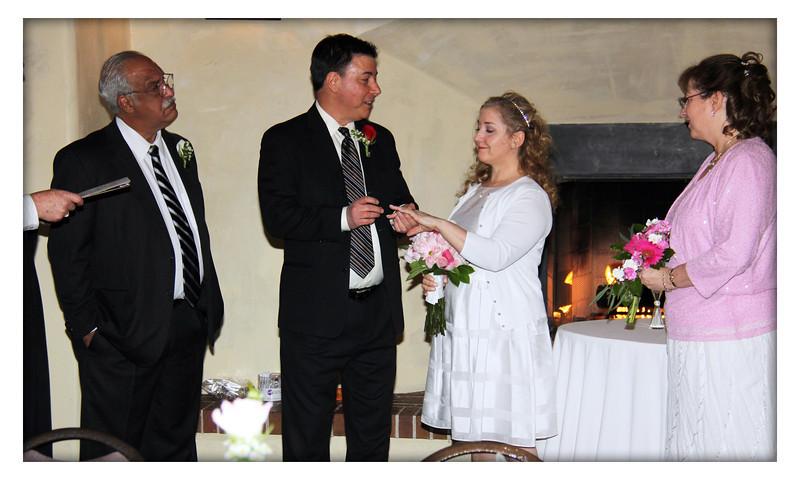 Richard and Theresa 04-12-2013. Best man: Joe Terrasi and Maid-of-Honor Beth Connors.