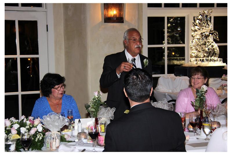 The toast... Dr. J. Terrasi