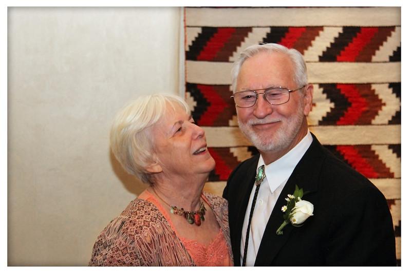 Still on honeymoon....Margaret and John Gilmore - right?