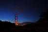 Golden Gate South at midnight