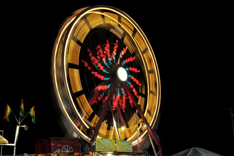 Spinning wheel goes round and round.....