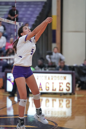 Richardson High School Volleyball 10-15-2019
