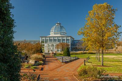 Conservatory & Central Garden