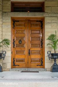 Entrance Doors - Dooley Mansion