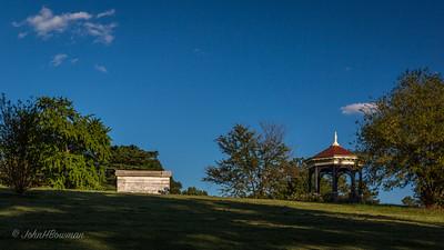 Mausoleum & Gazebo, SW of Mansion