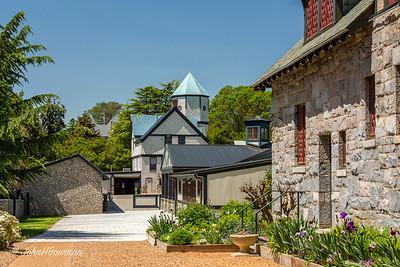 Maymont Barns Behind Mansion