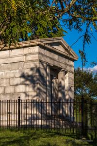 Dooley Mausoleum, SW of Mansion