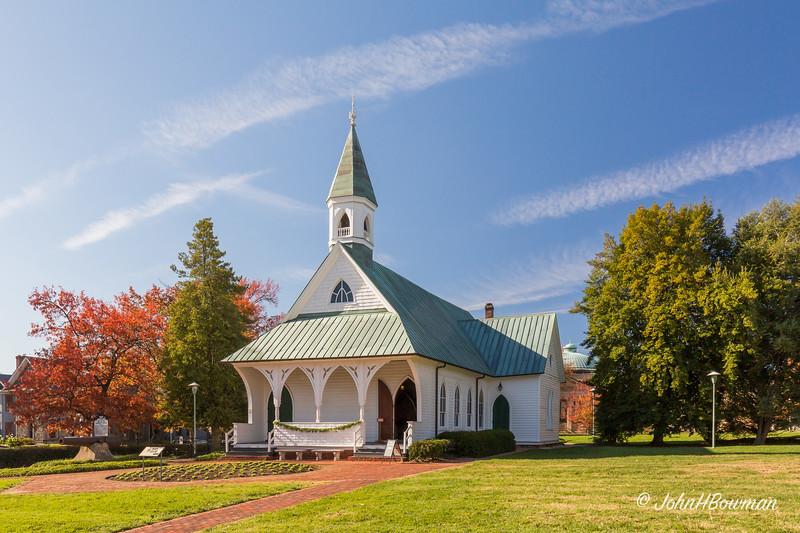 Confederate Memorial Chapel, VMFA, Richmond, VA